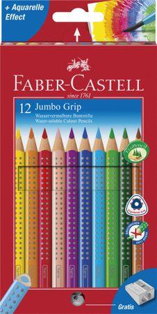 Faber Castell GRIP bojice Fc Grip Jumbo, 12/1 + šiljilo
