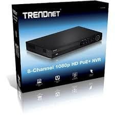 TrendNet mrežni video snemalnik TV-NVR104 8-kanalni 1080p HD PoE (NVR)