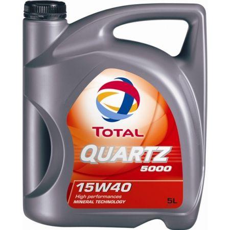Total olje Quartz 5000 5/1 15W40
