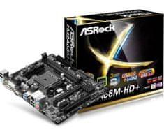 ASRock matična plošča FM2A68M-HD+, FM2+, ATX
