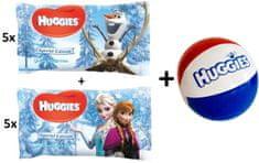 Huggies Nawilżane chusteczki Disney Natural Care 10x56 szt., Frozen