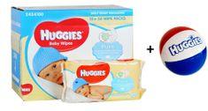 Huggies Nawilżane chusteczki Pure 10 x 56 szt.