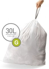 Simplehuman Vrecká do koša typ G (30 l) 20 ks