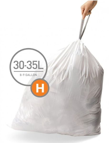 Simplehuman Sáčky do koše typ H (30-35 l) 20 ks
