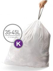 Simplehuman Vrecká do koša typ C (35-45 l) 20 ks