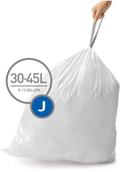 Simplehuman Sáčky do koše typ J (30-45 l) 60 ks