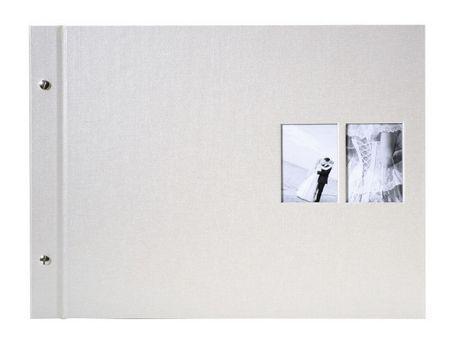 Goldbuch foto album Chromo Beige 39 x 31 cm, 40 belih strani
