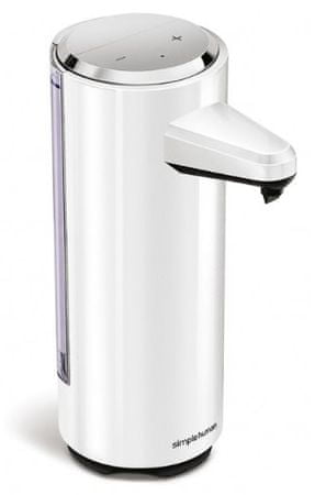 Simplehuman Érintés nélküli szappanadagoló, 237 ml, Fehér