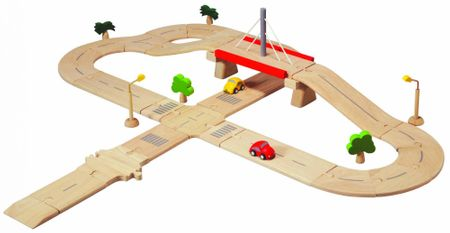 Plan Toys Autodráha Deluxe