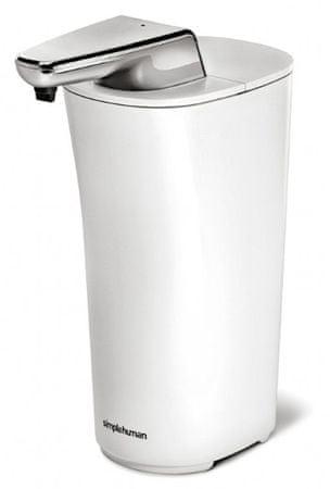 Simplehuman Érintés nélküli szappanadagoló, 222 ml, Fehér