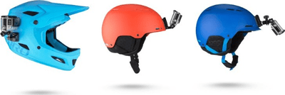 Přední a postranní držák na helmu Helmet Front and Side Mount AHFSM-001