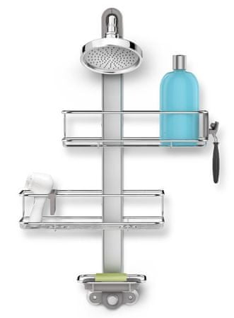 Simplehuman Set poličiek do sprchy Shower Caddy