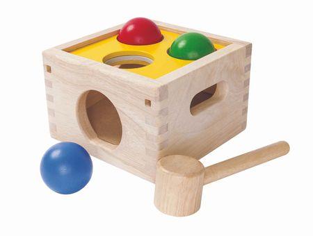 Plan Toys Zatlč a vysyp