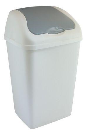Heidrun koš za odpadke Althea, 18 l, siv