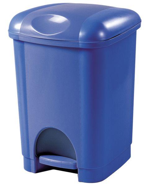 Heidrun Pedálový odpadkový koš 16 l modrá