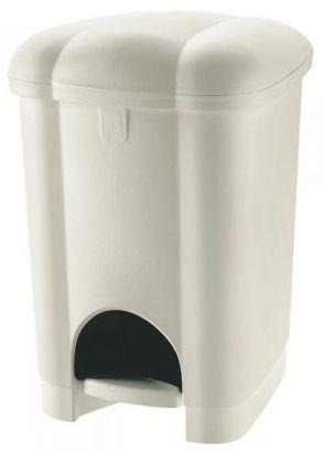 Heidrun Pedálový odpadkový koš 16 l bílá
