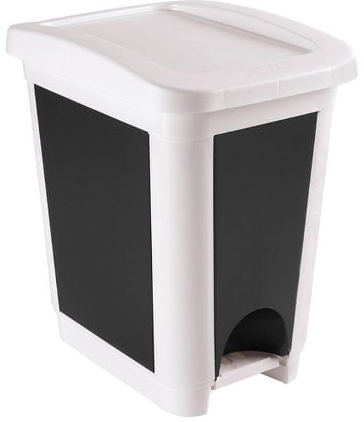 Heidrun Odpadkový koš 30 l bílá