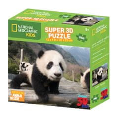 National Geographic sestavljanka 3D - Panda, 100 kosov, 31x23 cm