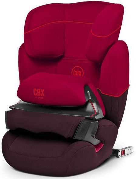Cybex Aura-Fix CBXC 2017, Rumba Red