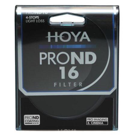 Hoya filter PRO ND 16x, 77 mm