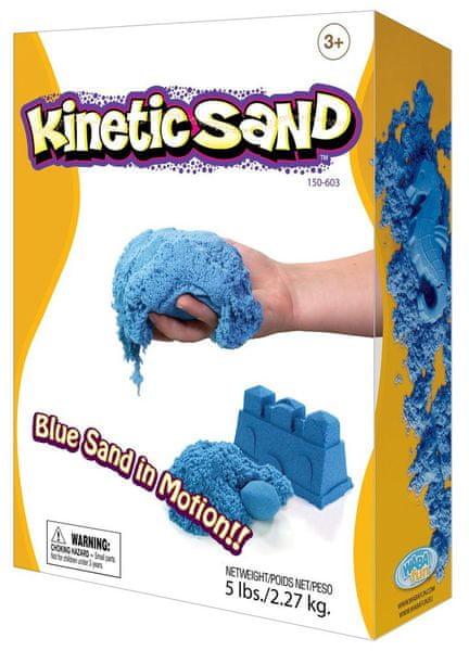 Montessori pomůcky Kinetický písek 2,3 kg - modrý