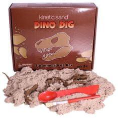 Montessori pomůcky Dino Dig T-Rex (sada s kinetickým pískem)