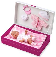 Arias Pachnąca lalka niemowlę, w pudełku