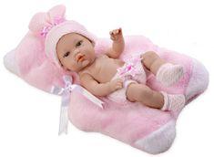 Arias Pachnąca lalka niemowlę, różowa