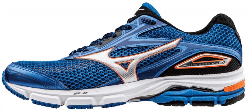 Mizuno Wave Legend 4 Skydiver/Silver/Clownfish 8 (42)