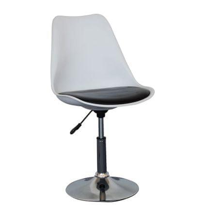 Pisarniški stol OS80 belo/črn