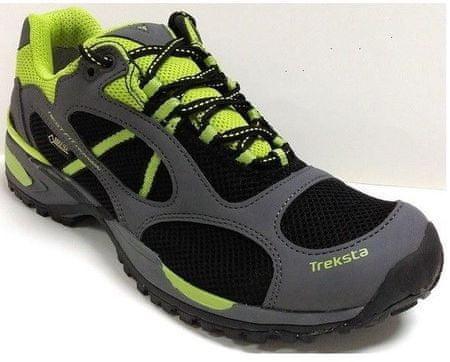 TrekSta pohodni čevlji Edict Sport GTX M, moški, 43, črno-zeleni