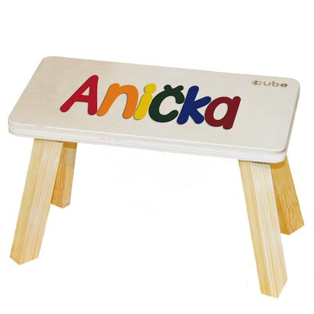 CUBS Stolička viacfarebná Anička
