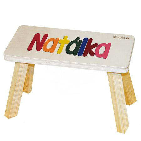 CUBS Stolička viacfarebná Natálka
