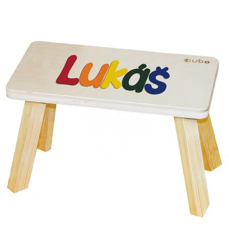 CUBS Stolička se jménem vícebarevná Lukáš