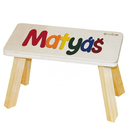 CUBS Stolička se jménem vícebarevná Matyáš