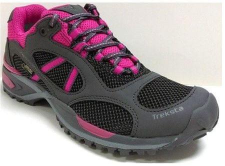 TrekSta pohodni čevlji Edict Sport GTW, ženski, 36, črno-roza