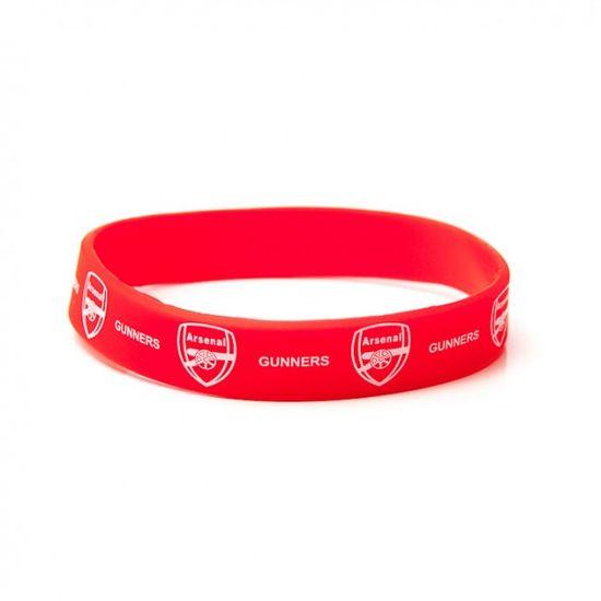 Arsenal silikonska narukvica (2445)
