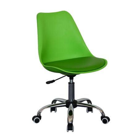 Pisarniški stol OS82, zelen