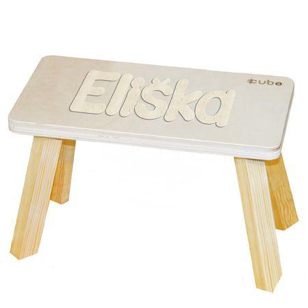 CUBS Stolička se jménem přírodní Eliška