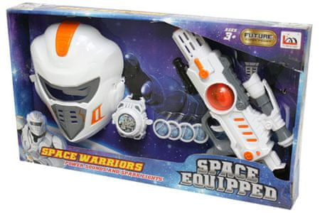 Unikatoy set s pištolo Space Warriors (24621)