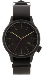 Komono zegarek Magnus Black Black
