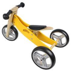 Yookidoo Drewniany rowerek 2w1 mini