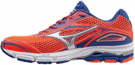 Mizuno buty do biegania Wave Legend 4 Fiery Coral/Silver/Dazzling Blue 6 (39)