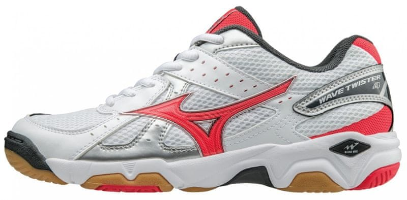 Mizuno Wave Twister 4 White/Diva Pink/Dark Shadow 7,5 (41)
