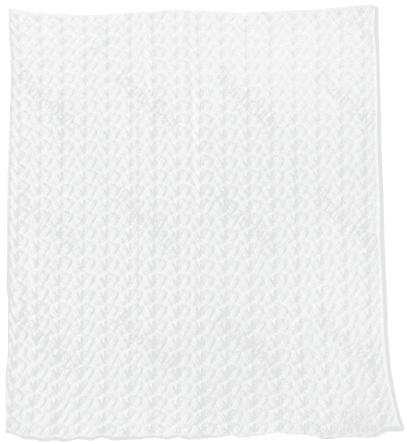 EKO Dětská deka 80x90 volánek - bílá