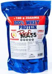 ProfiMass Profi 100% Whey Protein 1100 g bílá čokoláda