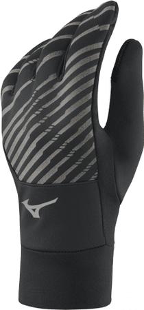 Mizuno rękawiczki sportowe WarmaLite Gloves Black L