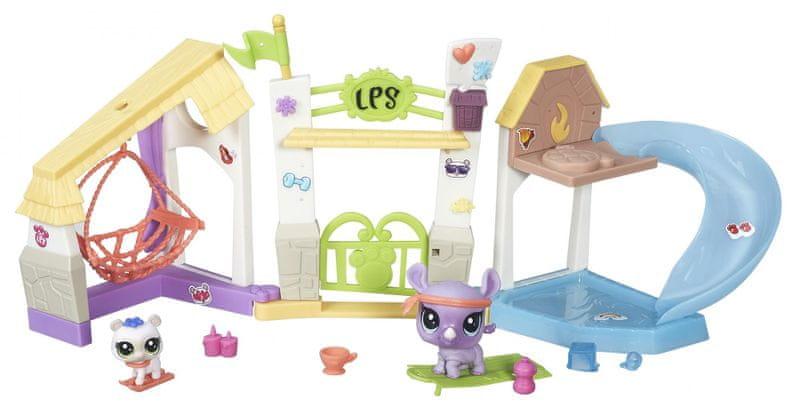 Littlest Pet Shop Městská scéna Zábavný park