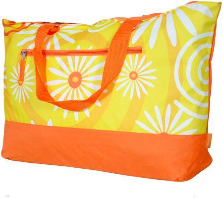REAbags Letní taška Benzi BZ3210 oranžová