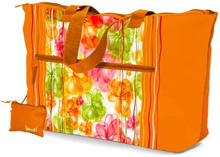 REAbags Letní taška Benzi BZ4473 oranžová